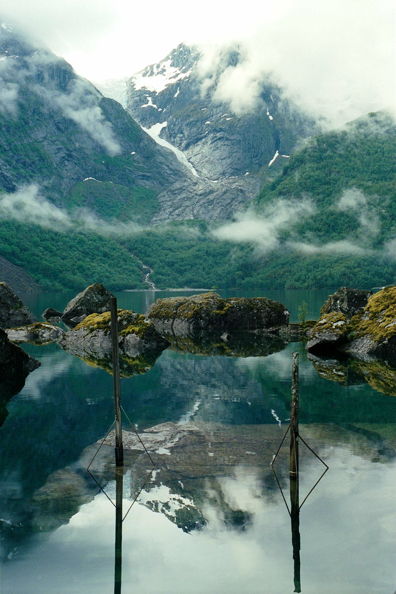 Stopem přes fjord